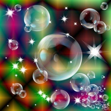Мыльные пузыри иллюстратор