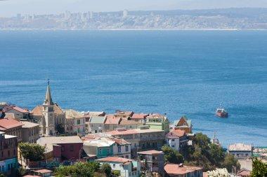 Area of Valparaiso, Chile