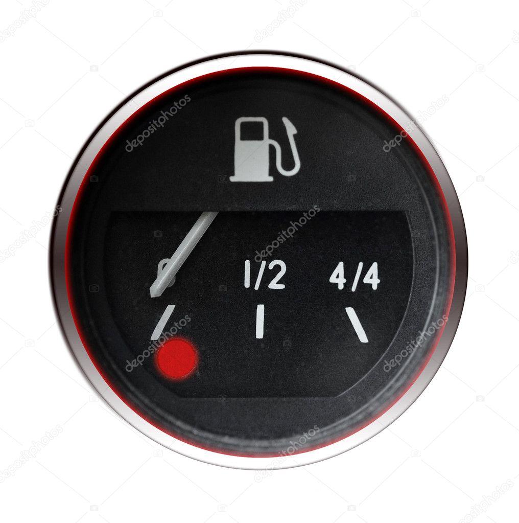 jauge d 39 essence voiture ancienne photographie ensuper 7400923. Black Bedroom Furniture Sets. Home Design Ideas