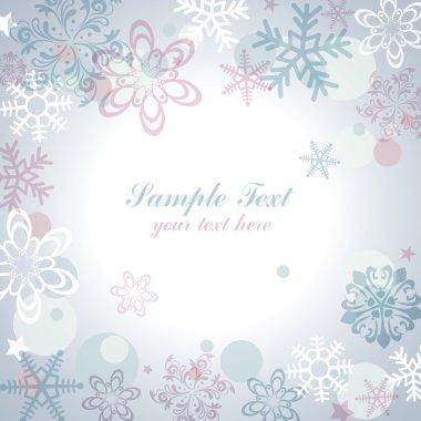 Snow flake frame