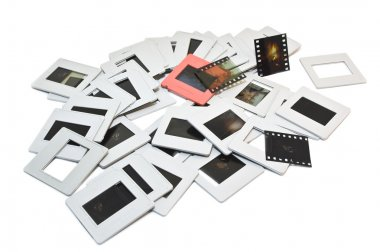 Old photographic slides