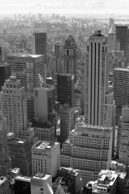 New York city black and white