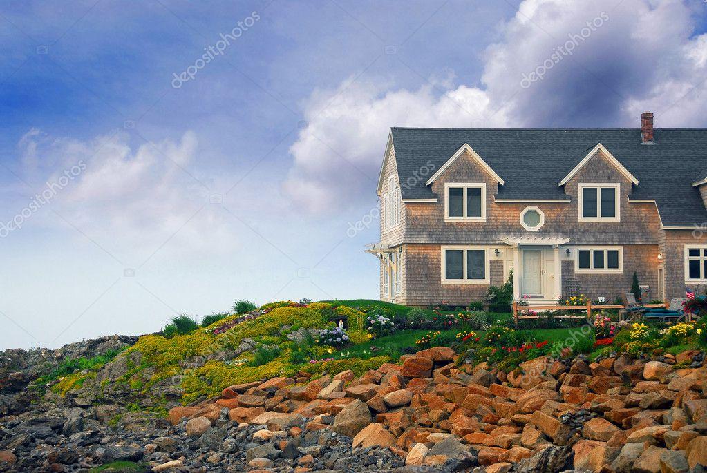 Maison Au Bord De L Ocean Photographie Elenathewise C 6980368