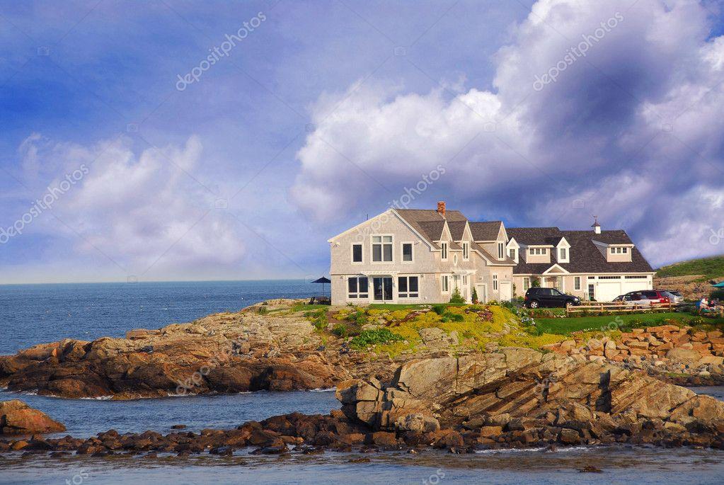 Maison Au Bord De L Ocean Photographie Elenathewise C 6980577