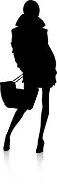 - Silhouette fashion girls