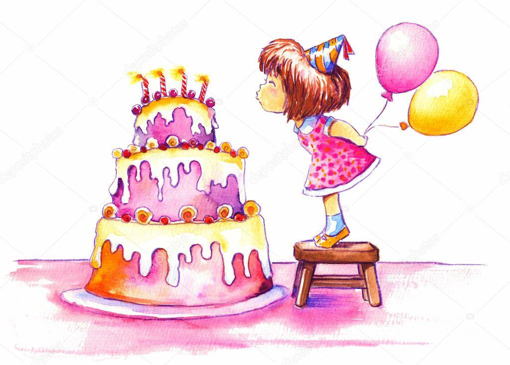 Birthday Stock Photo Deepgreen 7693821