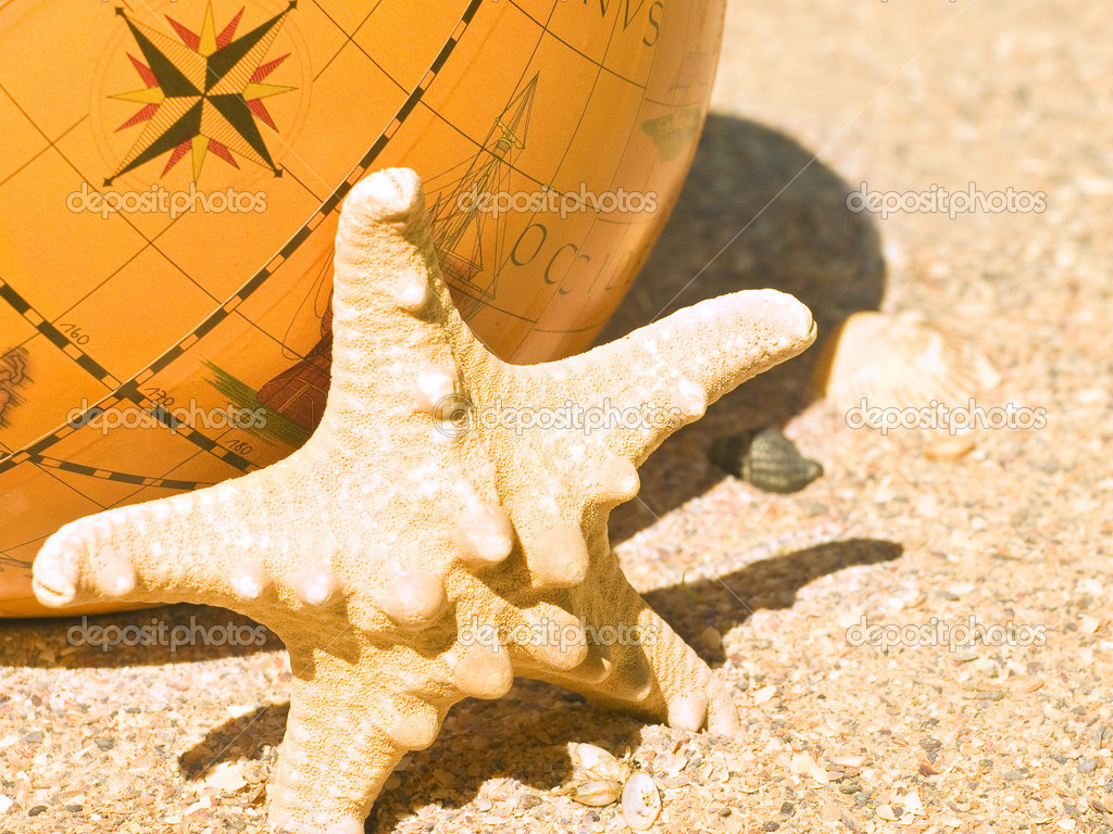 Starfish and the globe on song