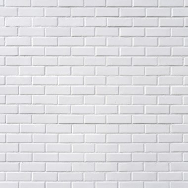 White brick wall, square photography stock vector