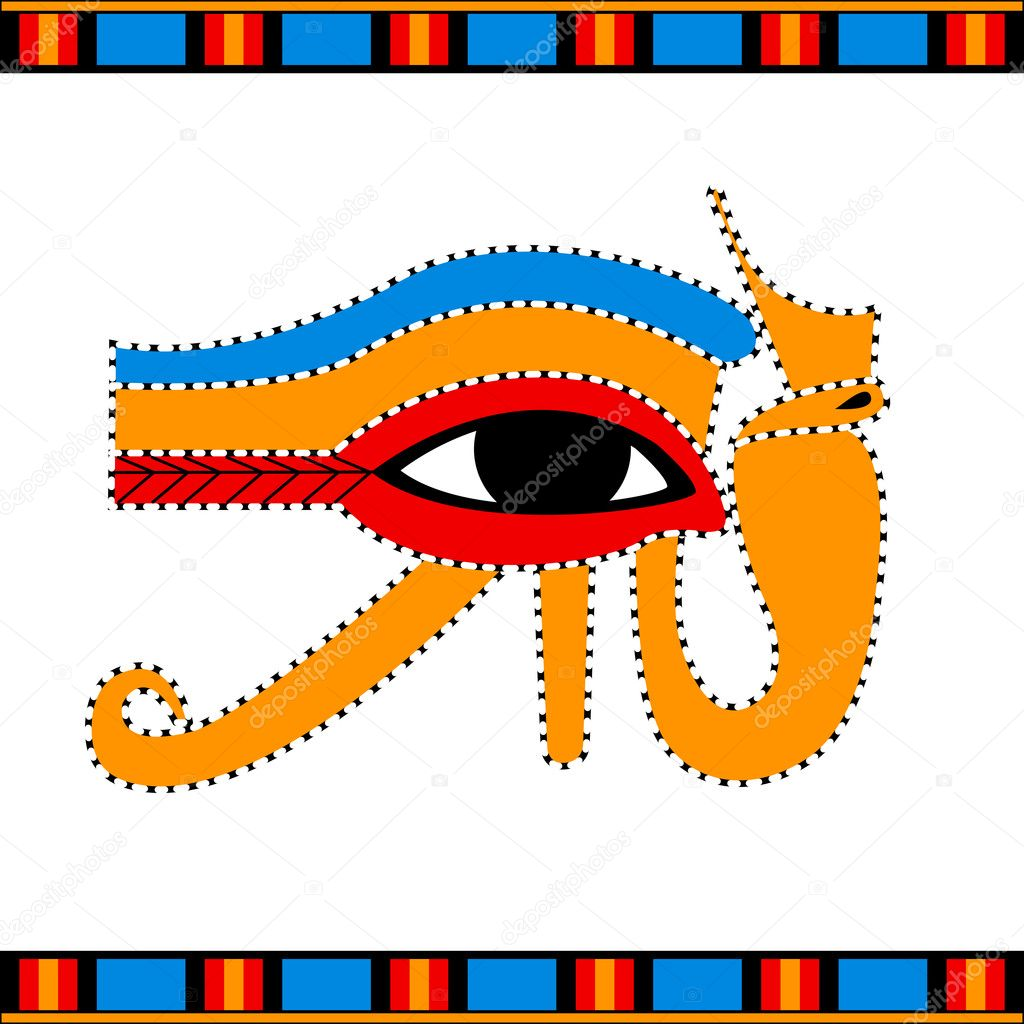 Eye of horus stock vector sateda 7307662 vector illustration of the ancient egyptian eye of horus symbol vector by sateda biocorpaavc Images