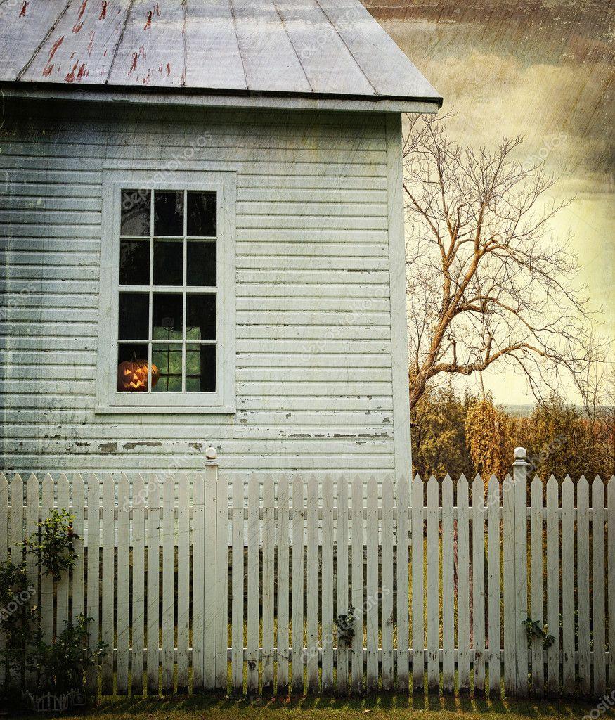 Old farm house window