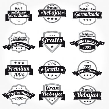 Premium Quality 100% Sales Free Labels with retro design