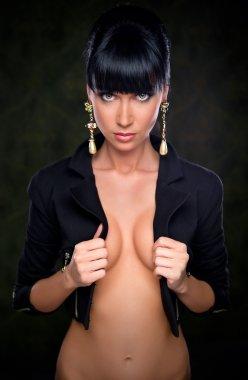 Gorgeous stylish brunette