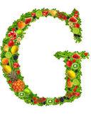písmeno g ovoce a zeleniny