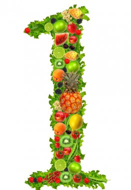 Fruit and vegetable No 1