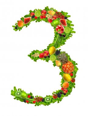 Fruit and vegetable No 3
