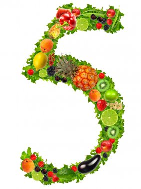 Fruit and vegetable No 5