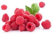 Photo Ripe raspberries.