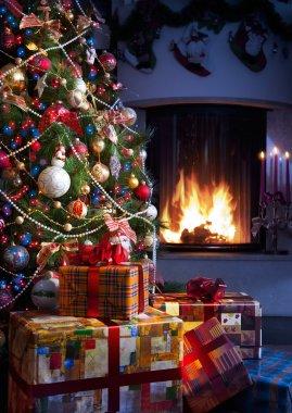 Christmas Tree and Christmas gift