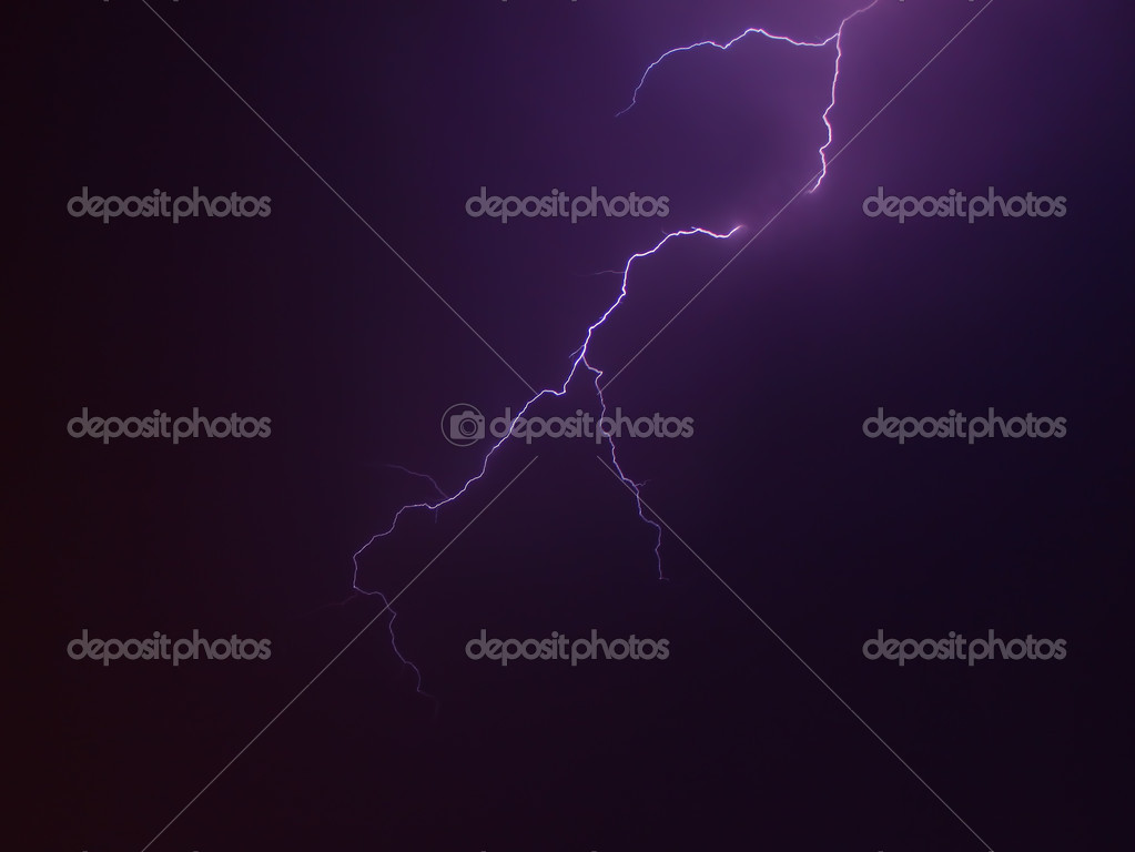 Lightning Bolts in the Sky