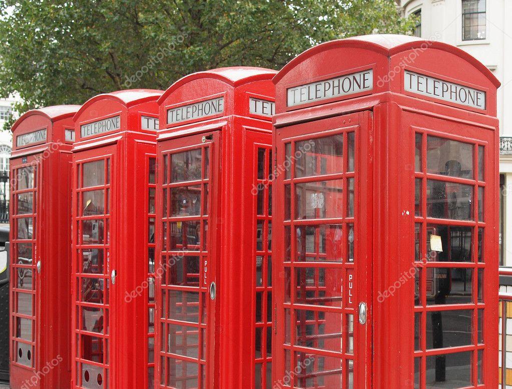 Foto Cabina Telefonica Di Londra : Cabina telefonica di londra alla notte londra regno unito immagine