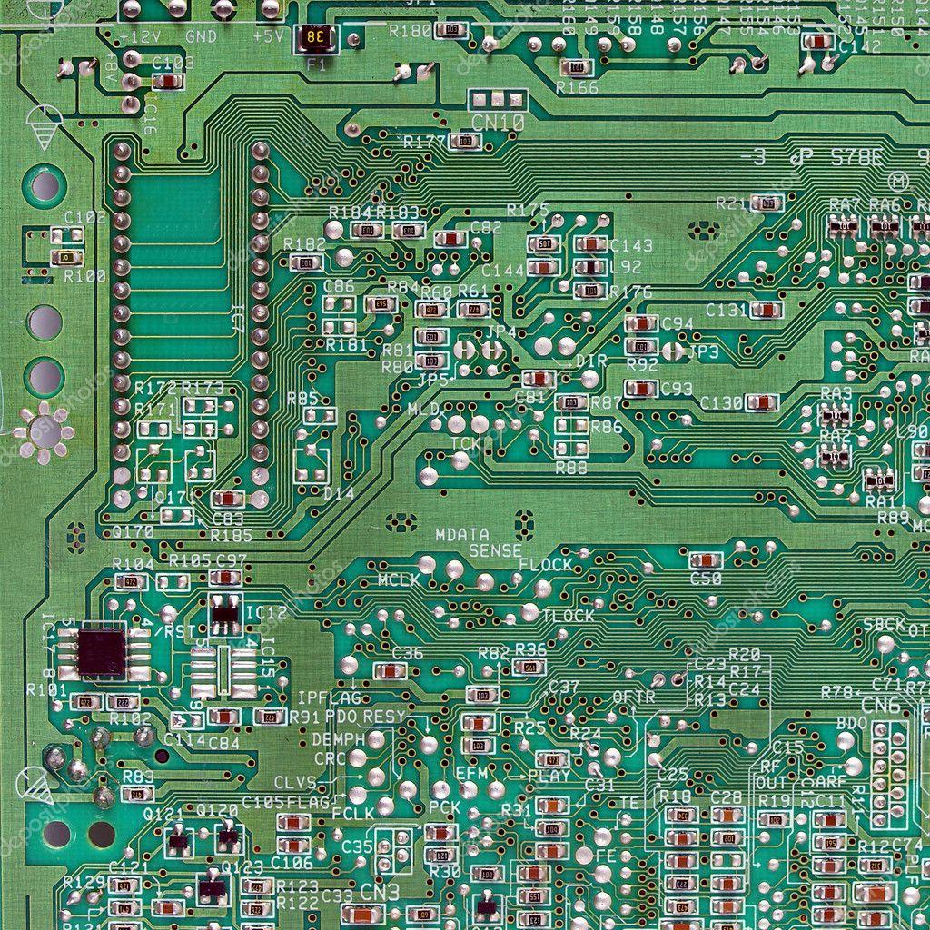 Circuito Impreso : Placa de circuito impreso u fotos de stock claudiodivizia