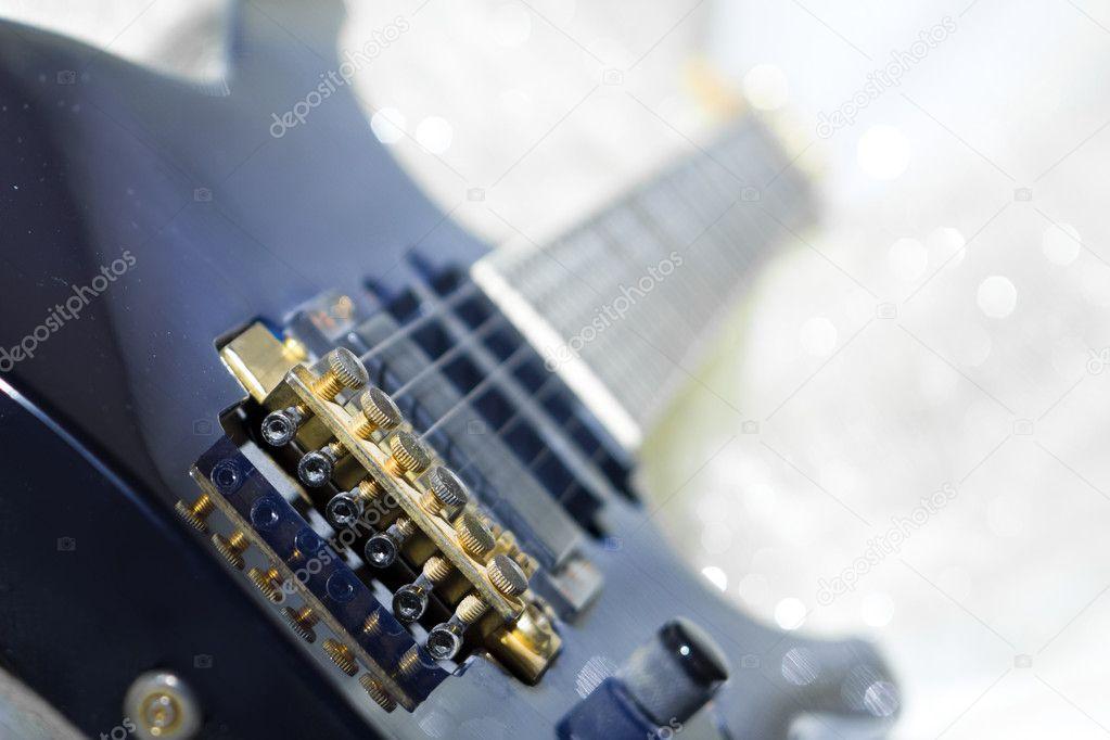 Guitar In Bed Stock Photo C Empehun 7285834