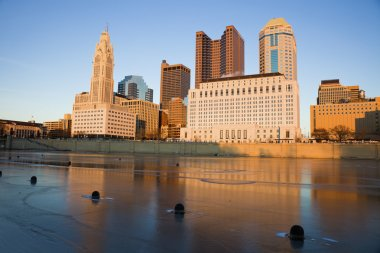 Columbus, Ohio - winter afternoon