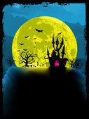 Fotografie strašidelný halloween pozadí. EPS 8