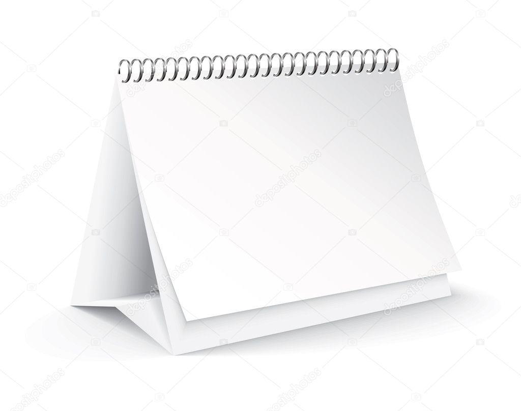 Blank Desk Calendar Desk Design Ideas