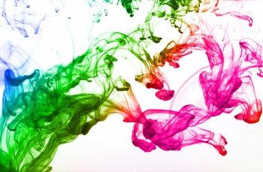 Multicolor ink drop
