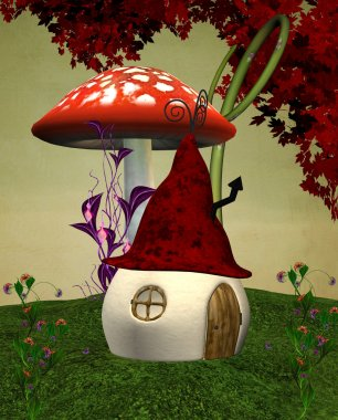Elves strange house