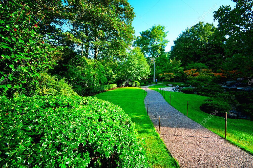 Jardin de kyoto dans le parc de la hollande londres for Jardin kyoto