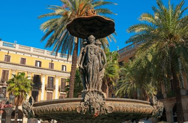 Plaza Real, Barcelona - Spain