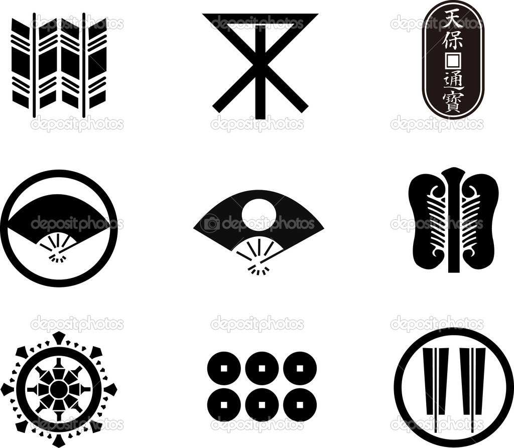 Japanese family crests 28 stock vector aryunet 7018713 japanese family crests 28 stock vector biocorpaavc Gallery