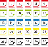 ikony kalendáře