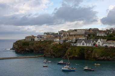 The harbour in Port Isaac