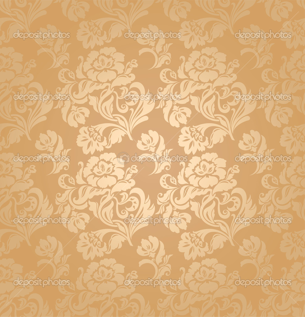 Seamless Pattern Ornament Floral Decorative Background