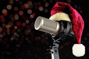 Christmas microphone