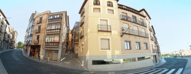 Panoramic view os old streets of Toledo, Spain