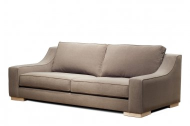 Modern sofa (clipping path )