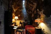 Fotografie historische Gefängniszelle von al capone
