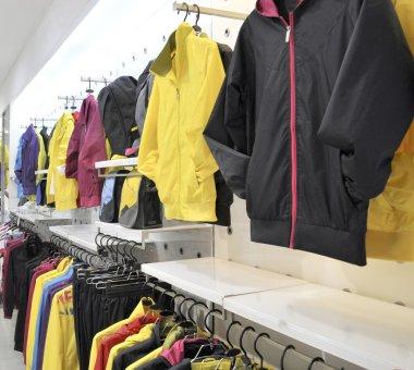 Sportswear shop
