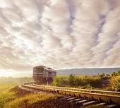 Fotografie Train in motion