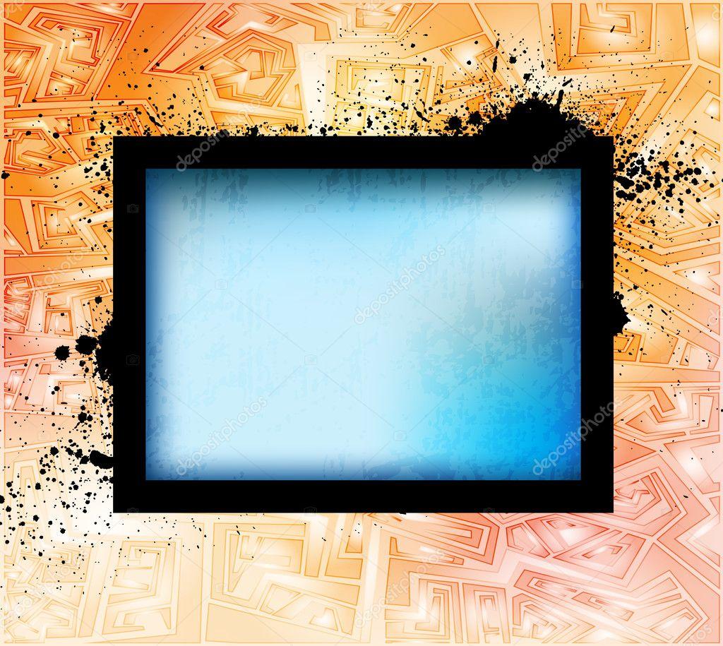 Marcos de diseño creativo — Vector de stock © archibald1221 #7627508