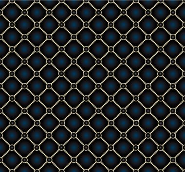 Vector seamless repeating leather upholstery background
