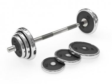 Weight barbell