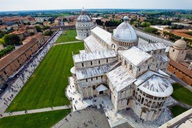 Cathedral La piazza del Suomo in Pisa, Italy