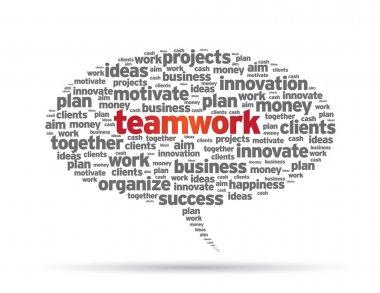 Speech Bubble - Teamwork
