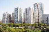 Fotografie Apartment buildings