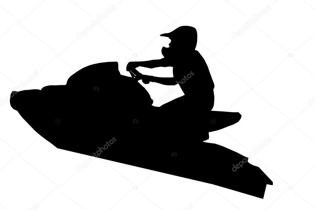 Woman Riding Jet Ski Cartoon Vector Clipart - FriendlyStock | Ski art,  Cartoons vector, Cartoon